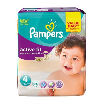 Pampers Active Fit 4 Maxi Drugpack