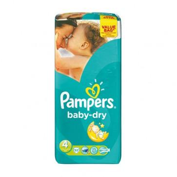 Pampers Baby Dry 4 Maxi Drugpack 7-18 Kg