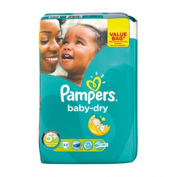 Pampers Baby Dry 5+ Junior+ Drugpack 13-27 Kg