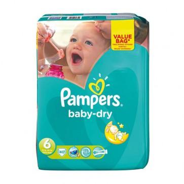 Pampers Baby Dry 6 Ex.Large Drugpack 15+ Kg