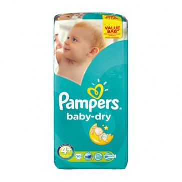 Pampers Baby Dry 4+ Maxi+ Drugpack 9-20 Kg