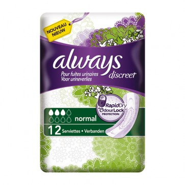 Always Discreet Normal Incontinence