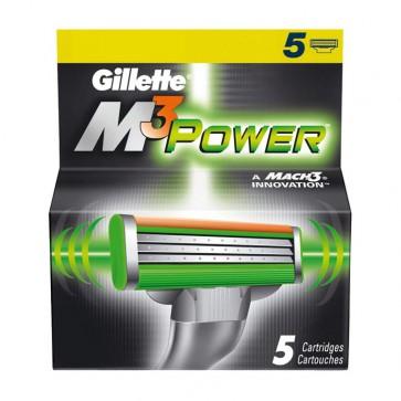 Gillette Mach3 Power Mesjes 5 Pack