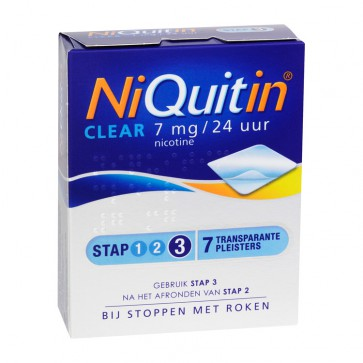 Niquitin Clear Patch 7mg