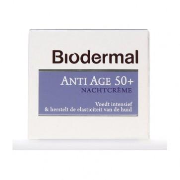 Biodermal Nachtcreme Anti-Age 50+
