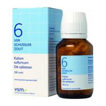 Vsm Schussler Zout No.6 D6 Kalium Sulfuricum
