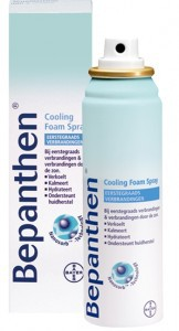 bepanthen cooling foam spray