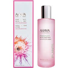 Ahava Dry Oil Body Mist Cactus & Pink Pepper