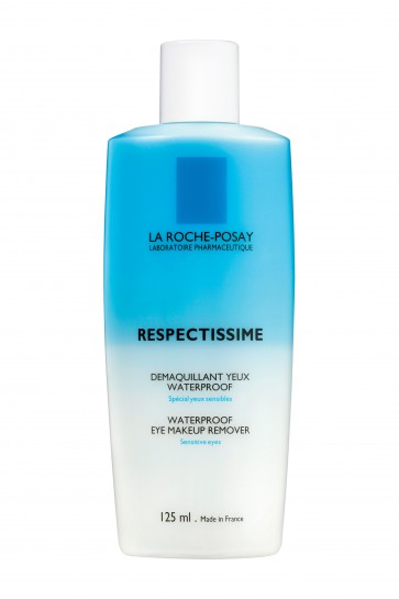 La Roche Posay Respectissime waterproof oog-makeup reiniging