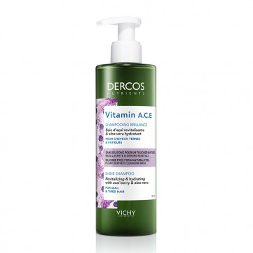 Dercos Nutrients Vitamin A.C.E. Shampoo (250ml)
