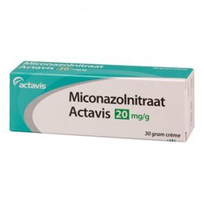 Actavis Miconazolnitraat Creme