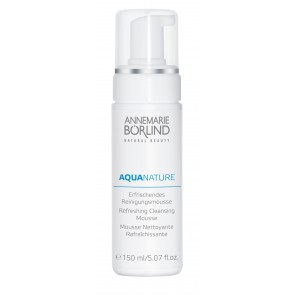 Aquanature verfrissende cleansing mousse 150ml
