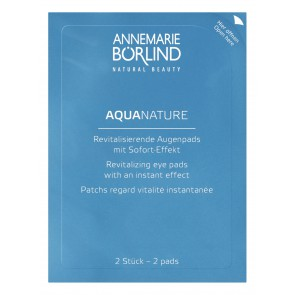 Aquanature revitaliserende eyepads (6x 2 pads)