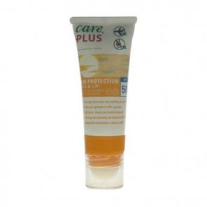 Care Plus Sun Protection Face/Lip F50+