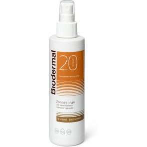Biodermal Zonnespray (bruinend) F20