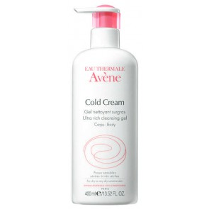 Avene Cold Cream Ultra Rich Cleansing Gel