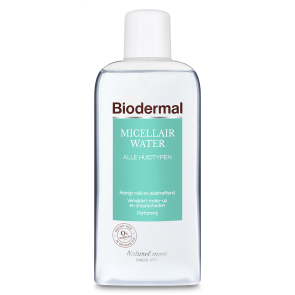 biodermal micellair water geveolige huid