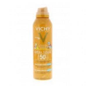 Vichy Idéal Soleil Anti-zand Mist Voor Kinderen (spf 50+)