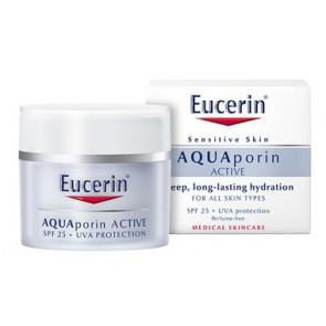 Eucerin Aquapor Active Hydraterende Crème Spf 25 + Uva