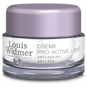 Louis Widmer Pro-active Crème Light Ongeparfumeerd