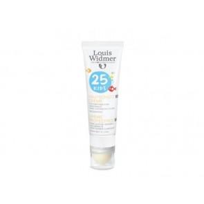 Louis Widmer Zonnecrème 25 Kids/lipstick Ongeparfumeerd