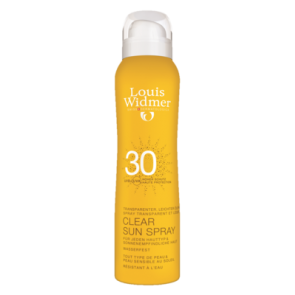 Louis Widmer Clear Sun Spray Spf 30 Ongeparfumeerd