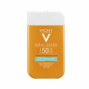 Vichy IDÉAL SOLEIL Dry Touch Fluide SPF50 Pocketsize - 30ml
